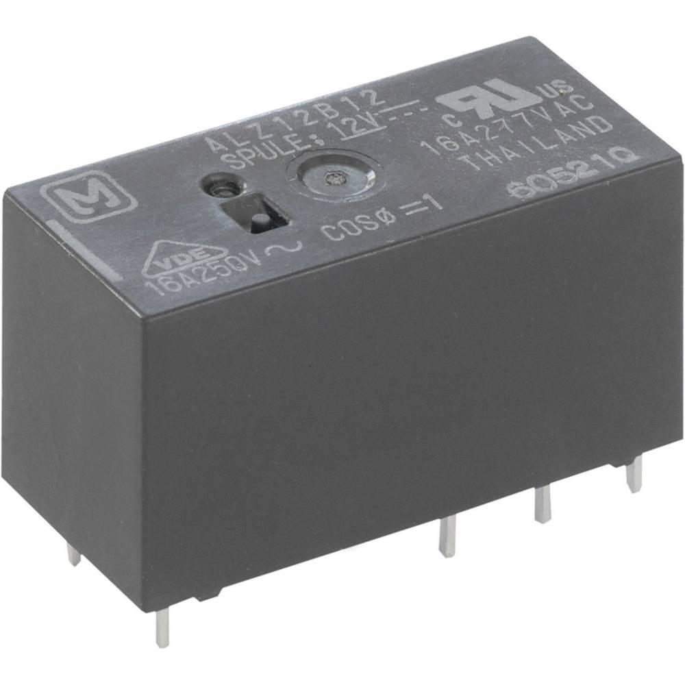 Rele za tiskano vezje 12 V/DC 16 A 1 x preklopni Panasonic ALZ12B12 1 kos