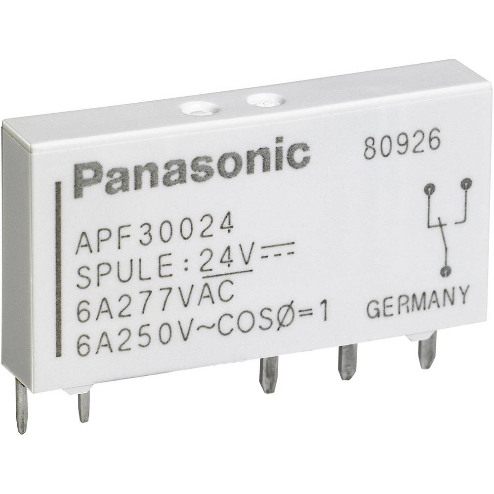 Rele za tiskano vezje 5 V/DC 6 A 1 x preklopni Panasonic APF30305 1 kos