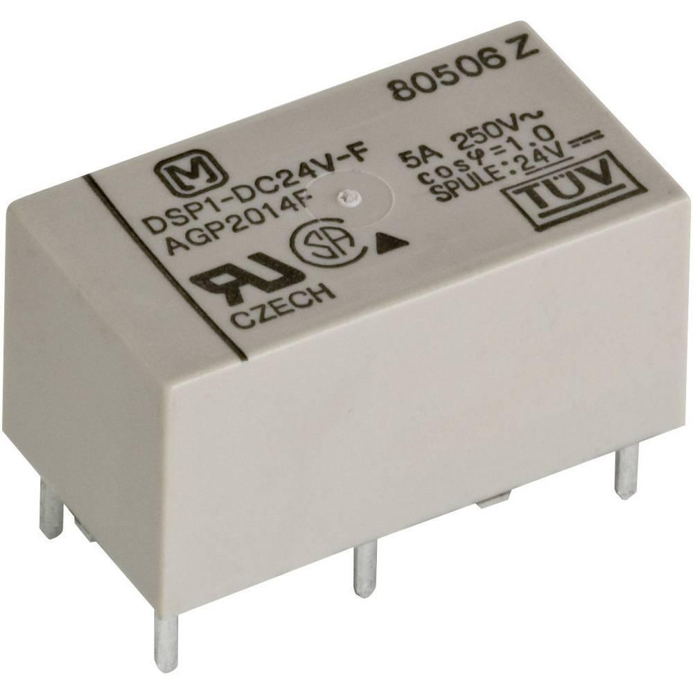 Rele za tiskano vezje 5 V/DC 5 A 1 x zapiralni, 1 x odpiralni Panasonic DSP15FD 1 kos