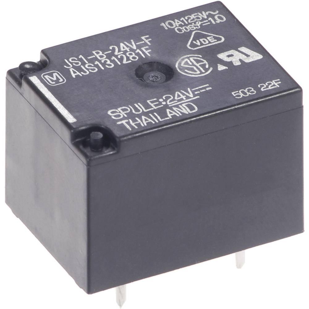 Printrelais (value.1292897) 24 V/DC 10 A 1 Wechsler (value.1345271) Panasonic JS1-B-24V-F 1 stk