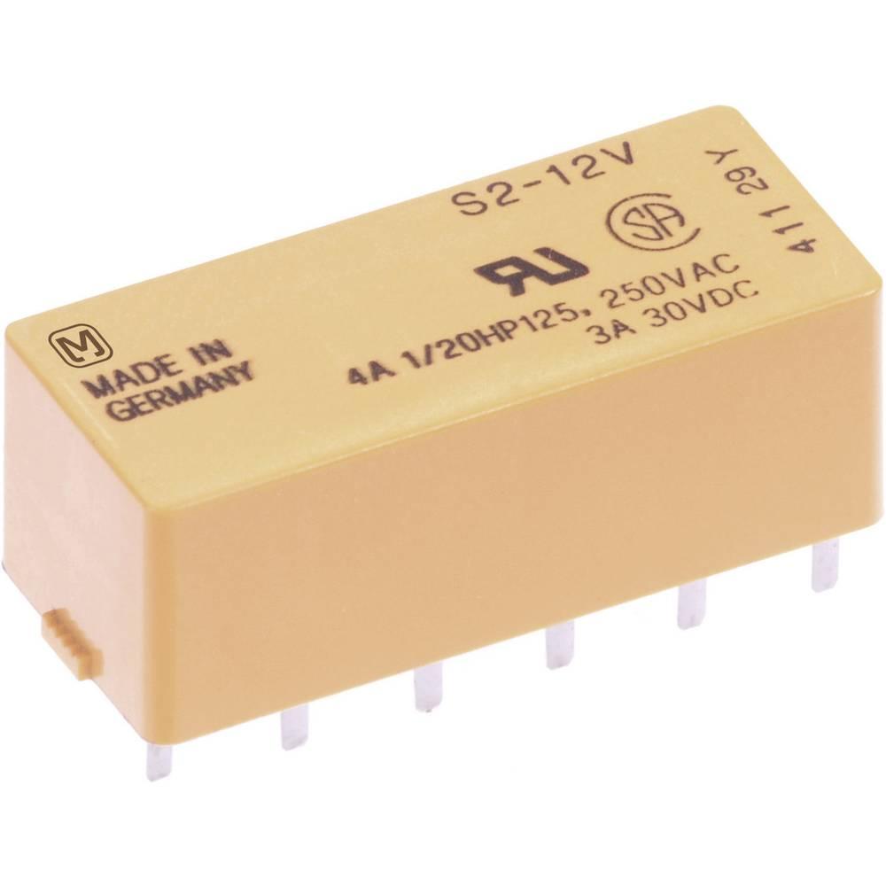 Printrelais (value.1292897) 5 V/DC 4 A 2 Schließer (value.1345272), 2 Öffner (value.1345273) Panasonic S25ULCSAD 1 stk