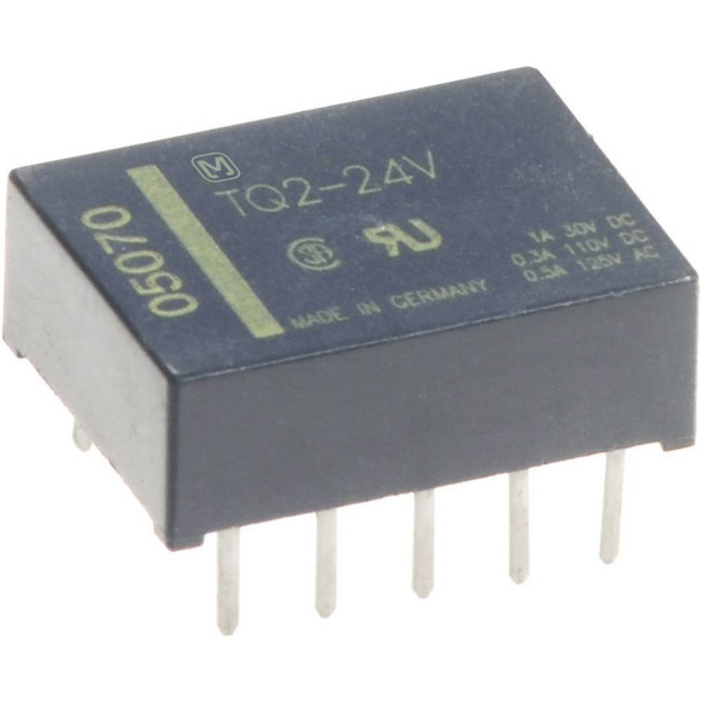Printrelais (value.1292897) 5 V/DC 1 A 2 Wechsler (value.1345274) Panasonic TQ25 1 stk