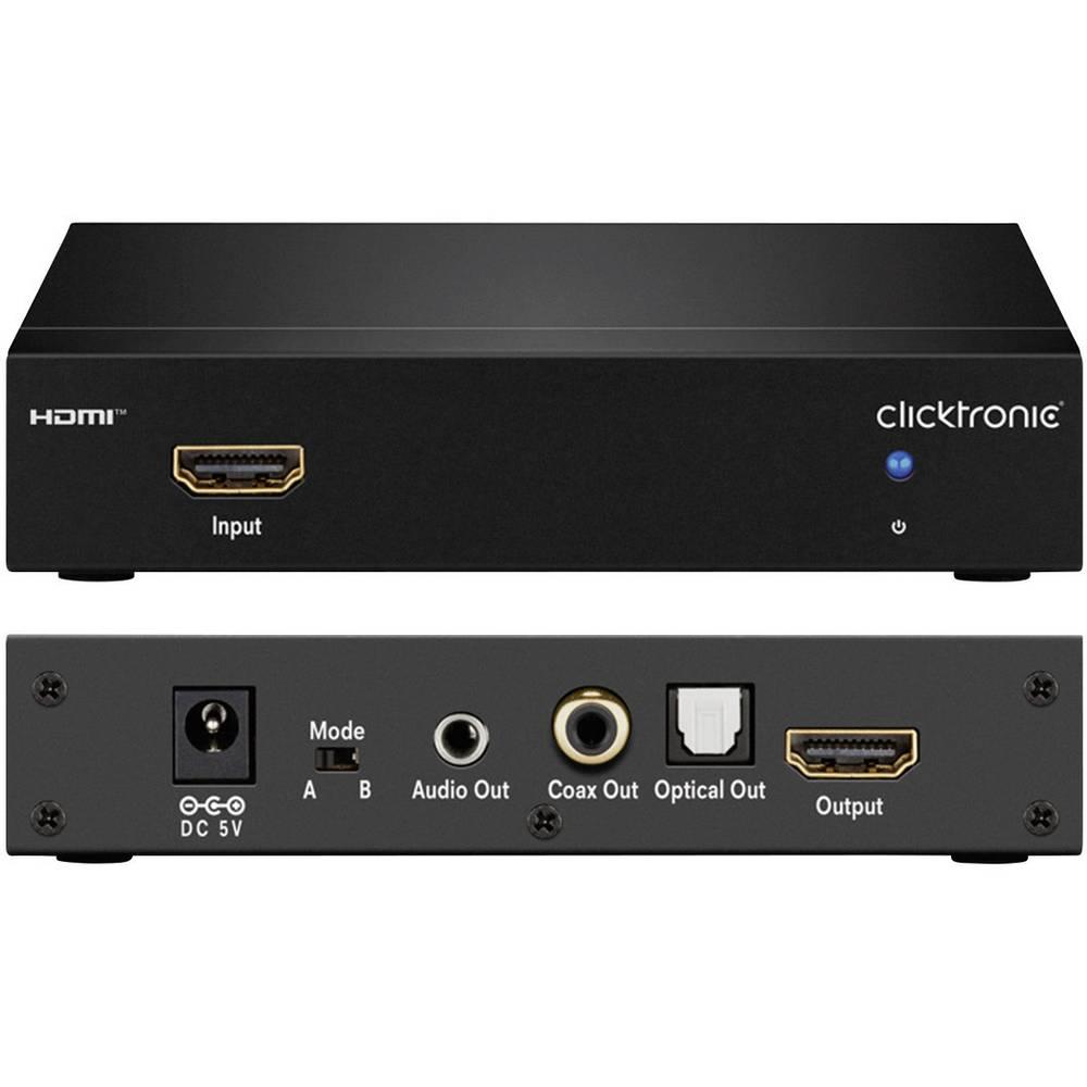 HDMI audio ekstraktor clicktronic