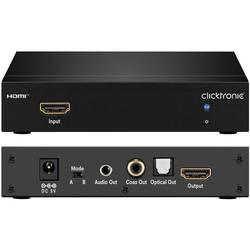 Audio Extraktor clicktronic Extracteur audio HDMI [HDMI - HDMI, Toslink, RCA-digital, Teleplugg] 1920 x 1080 pix