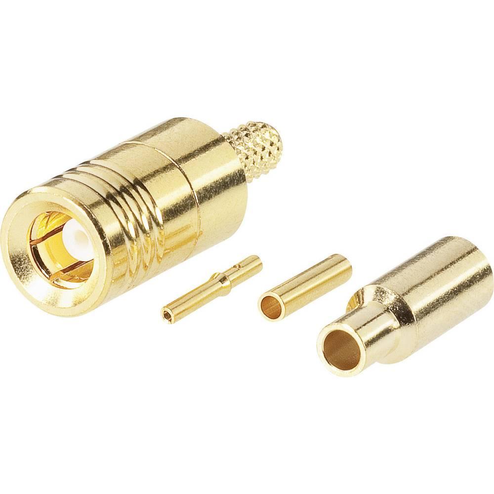 SMB-stikforbindelse BKL Electronic 0411041 50 Ohm Tilslutning, lige 1 stk