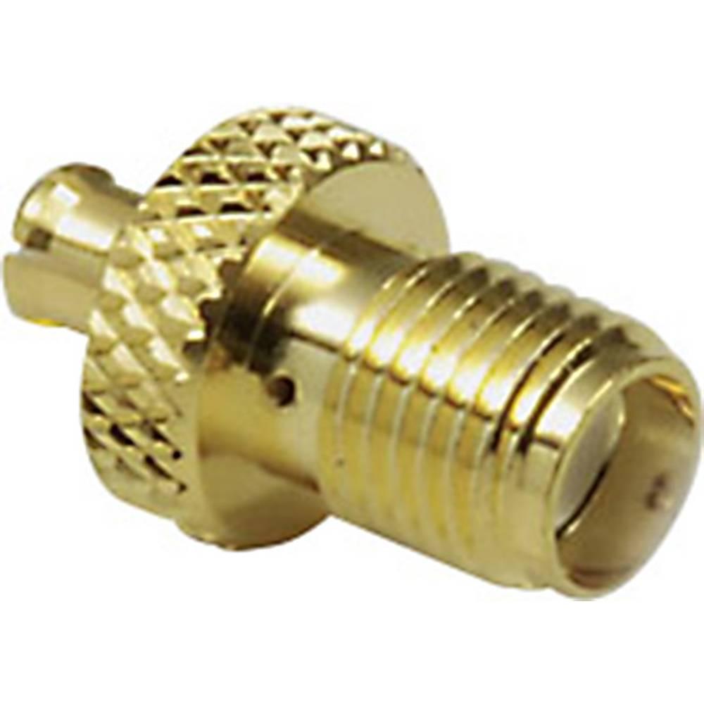 MCX-adapter MCX-vtič - SMA-vtičnica BKL Electronic 0416314 1 kos