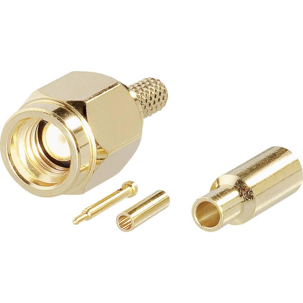 SSMA-stik BKL Electronic 0417000 50 Ohm Stik, lige 1 stk