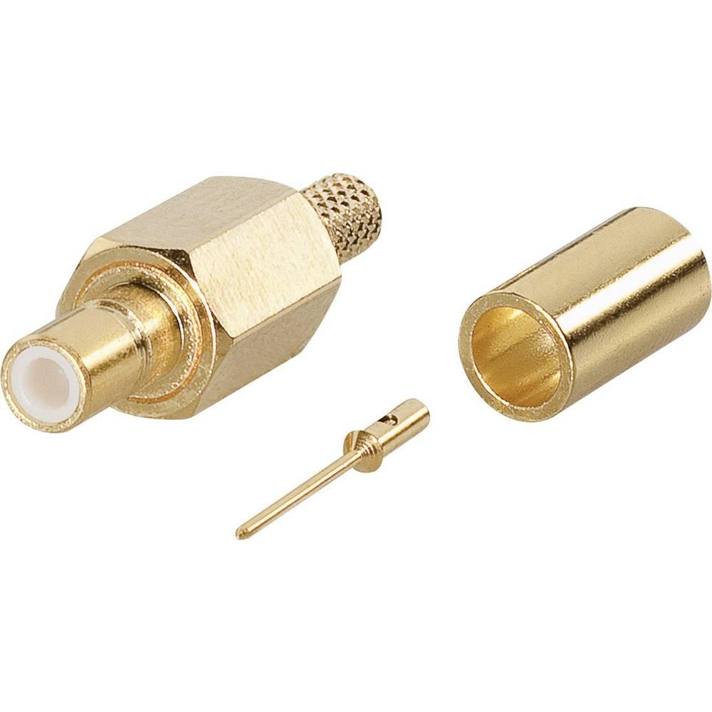SSMB-tilslutning BKL Electronic 0417504 50 Ohm Kobling, lige 1 stk