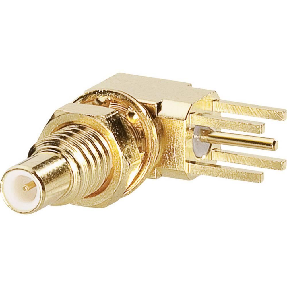 SSMC-tilslutning BKL Electronic 0418002 50 Ohm Tilslutning, indbygning lodret 1 stk