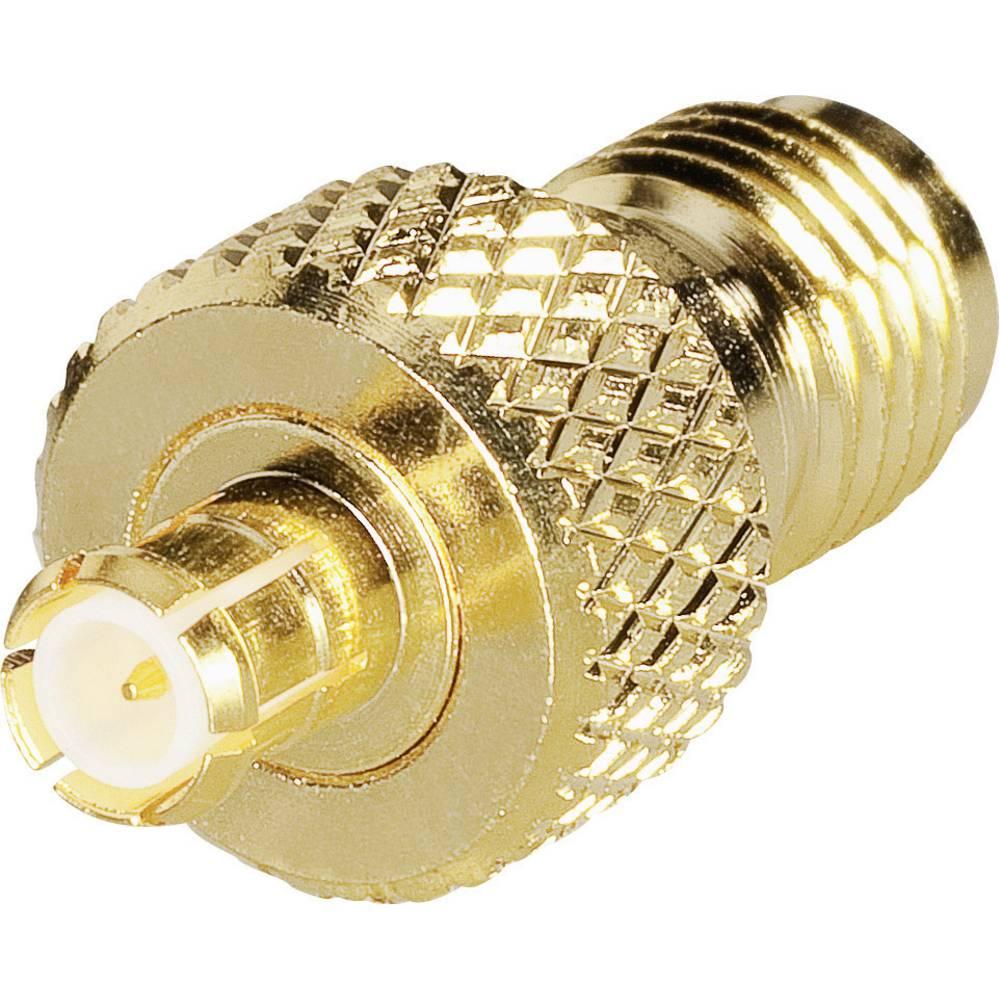SMA-reverse-adapter SMA-reverse-tilslutning - MCX-stik BKL Electronic 0419124 1 stk