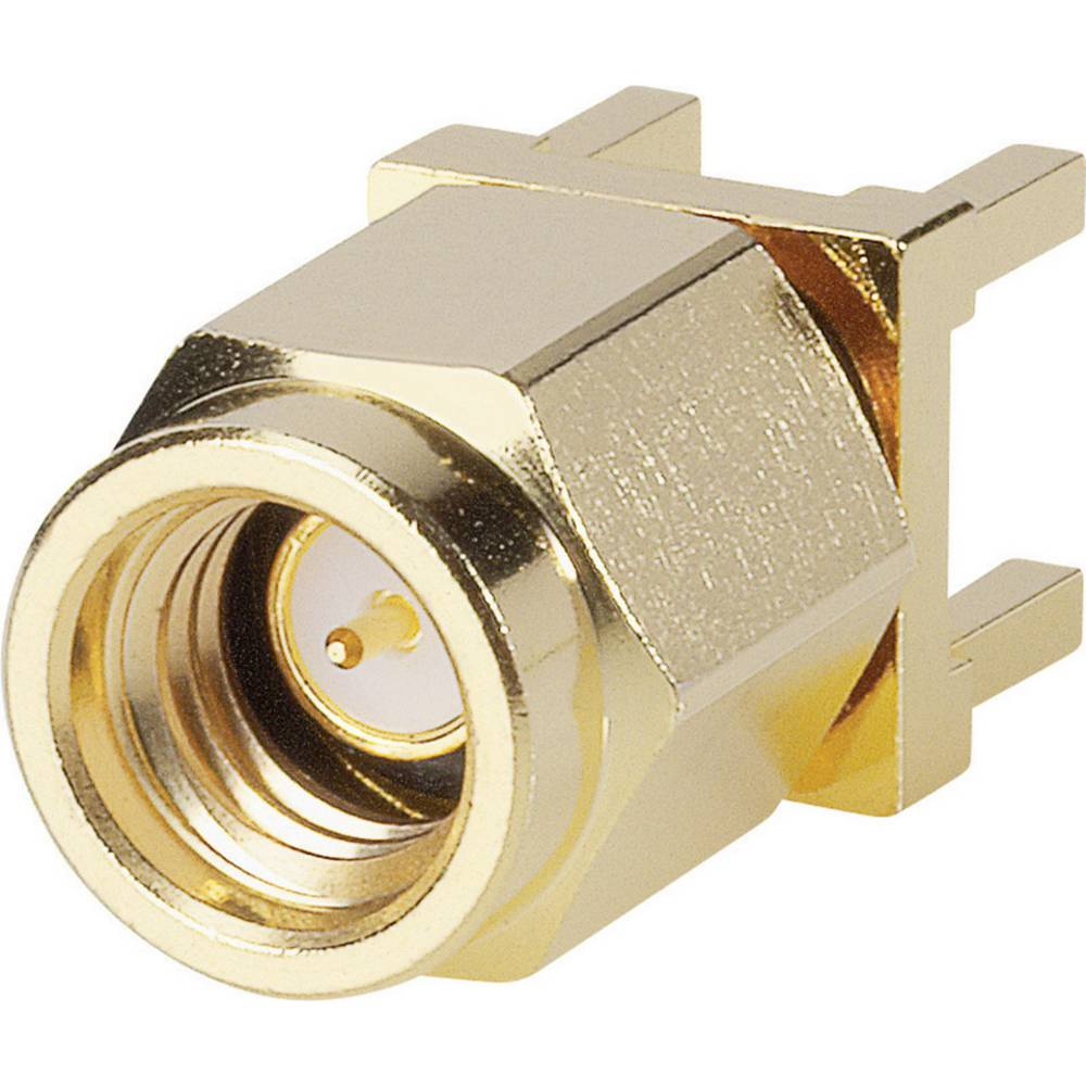 SSMA-stik BKL Electronic 0417104 50 Ohm Tilslutning, indbygning vandret 1 stk