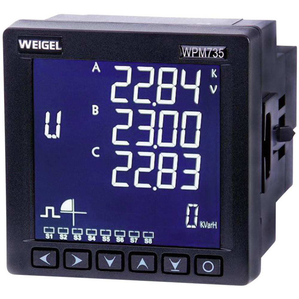 Weigel WPM 735 E-H-T-AO-V3 analizator omrežja 6790006