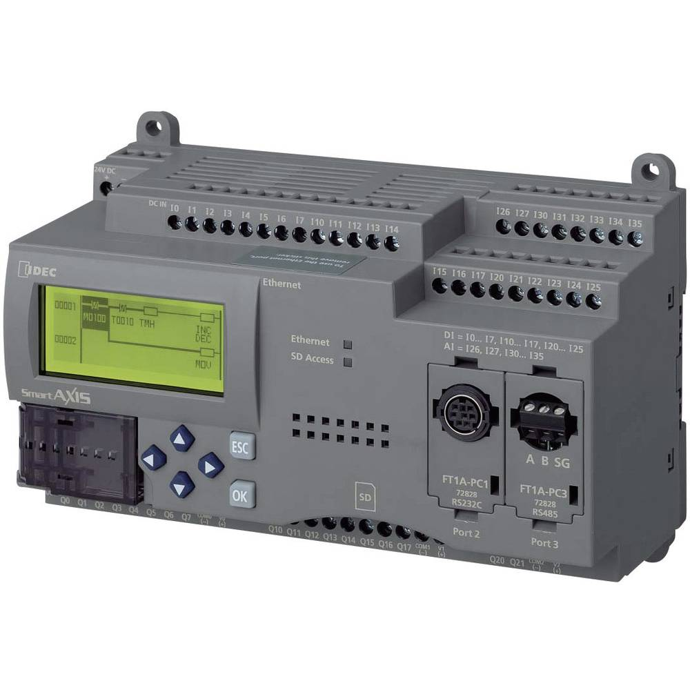 SPS-krmilni modul Idec SmartAXIS Pro FT1A-H48SA 24 V/DC