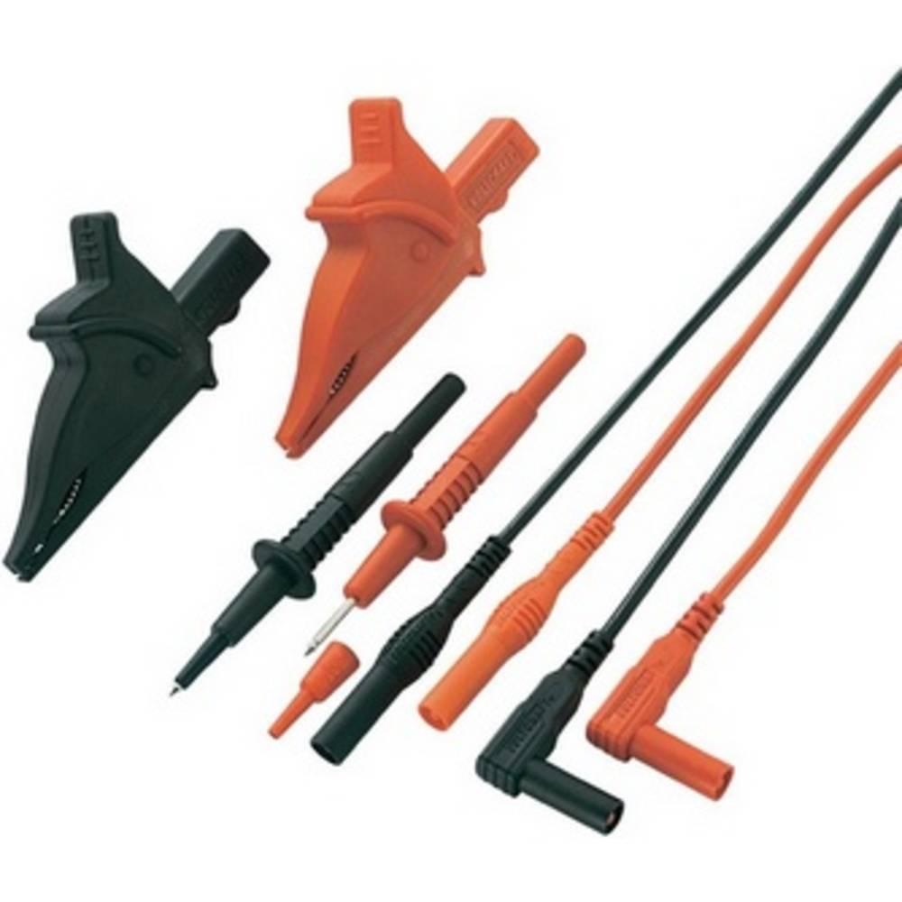 Komplet varnostnih merilnih kablov [lamelni vtič 4 mm - lamelni vtič 4 mm] 1.20 m črne barve, rdeče barve VOLTCRAFT MS-5