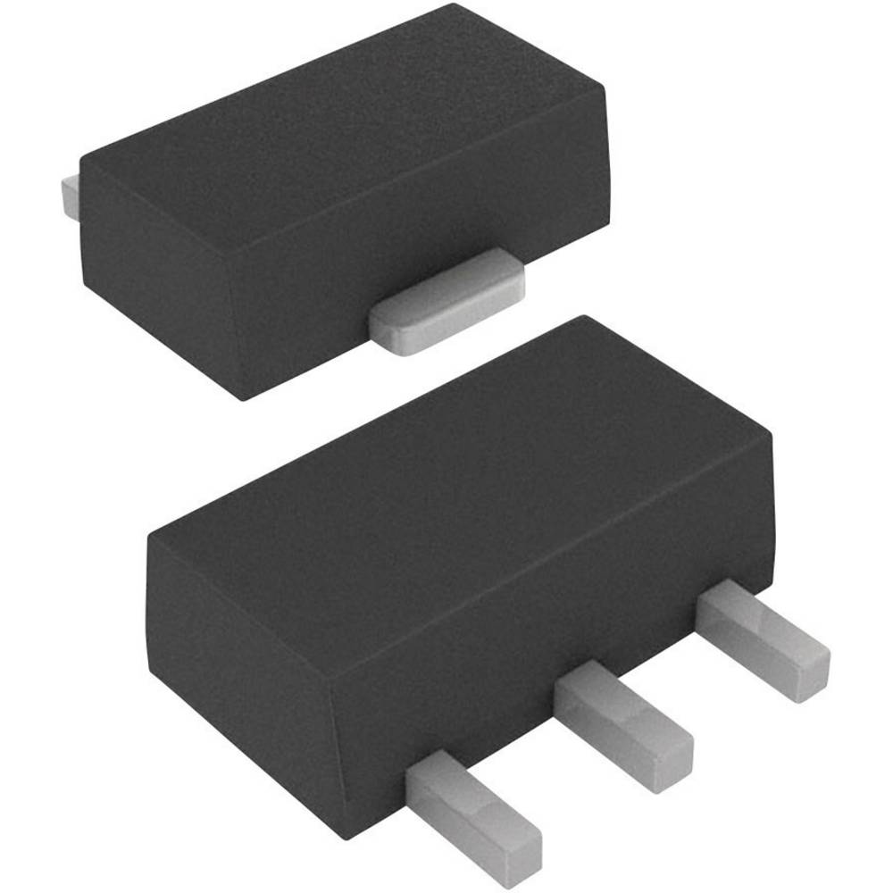 MOSFET DIODES Incorporated ZXMN6A11ZTA 1 N-kanal 1.5 W SOT-89-3