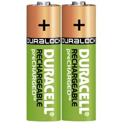 Laddbart batteri R6 (AA) NiMH Duracell PreCharged HR06 2400 mAh 1.2 V 2 st