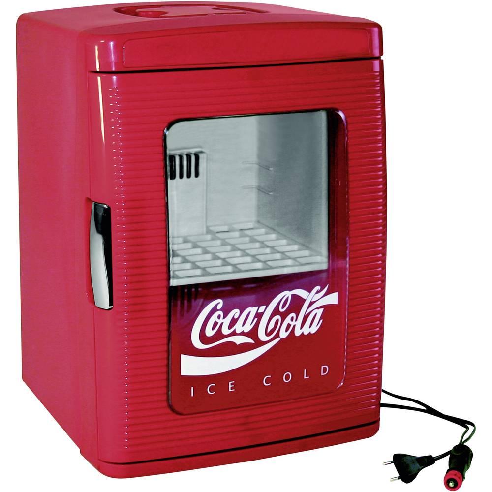 Ezetil Coca-Cola mini hladilnik MF25 12/230V r rdeča 23 l Energetska učinkovitost razreda A + = 526430