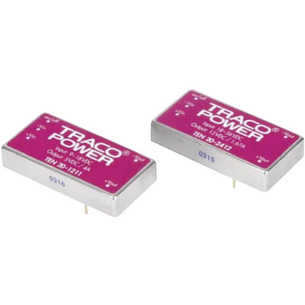 DC/DC pretvornik za tiskano vezje TracoPower TEN 20-4810WIN 48 V/DC 3.3 V/DC 5.5 A 20 W št. izhodov: 1 x