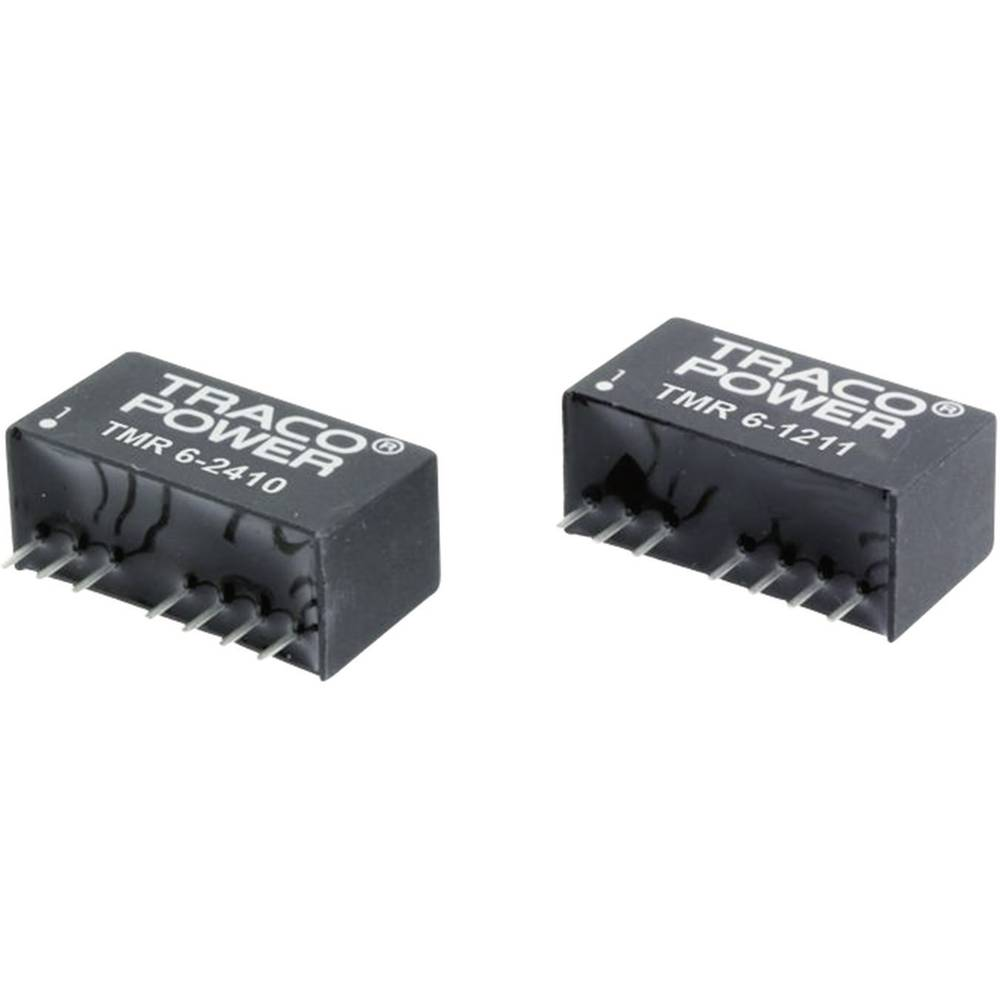 DC/DC pretvornik za tiskano vezje TracoPower TMR 6-2421 24 V/DC 5 V/DC, -5 V/DC 600 mA 6 W št. izhodov: 2 x