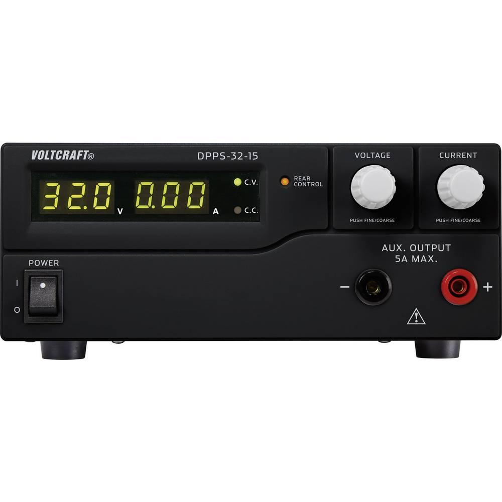 Laboratorijski napajalnik, nastavljiv VOLTCRAFT DPPS-32-15 1 - 32 V/DC 0 - 15 A 480 W USB z možnostjo programiranja, število izh