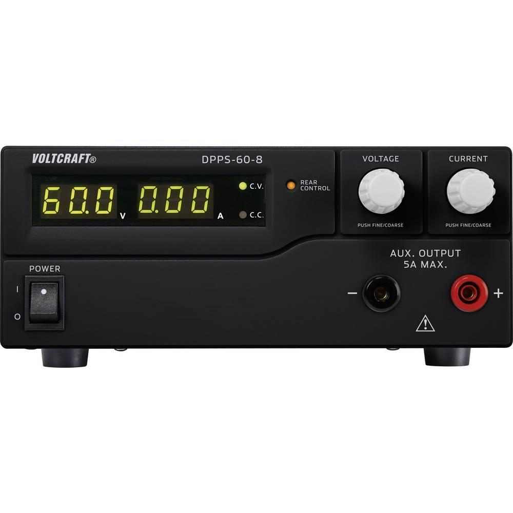 Laboratorijski napajalnik, nastavljiv VOLTCRAFT DPPS-60-8 1 - 60 V/DC 0 - 8 A 480 W USB z možnostjo programiranja, število izhod