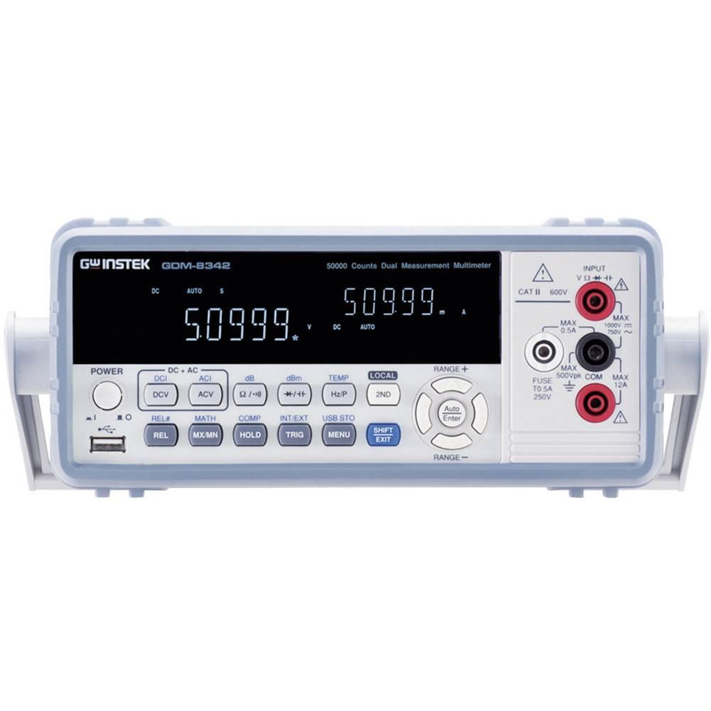 Digitalni stolni multimetar GW Instek GDM-8342GPIB CAT II 600 V broj mjesta na zaslonu: 50000