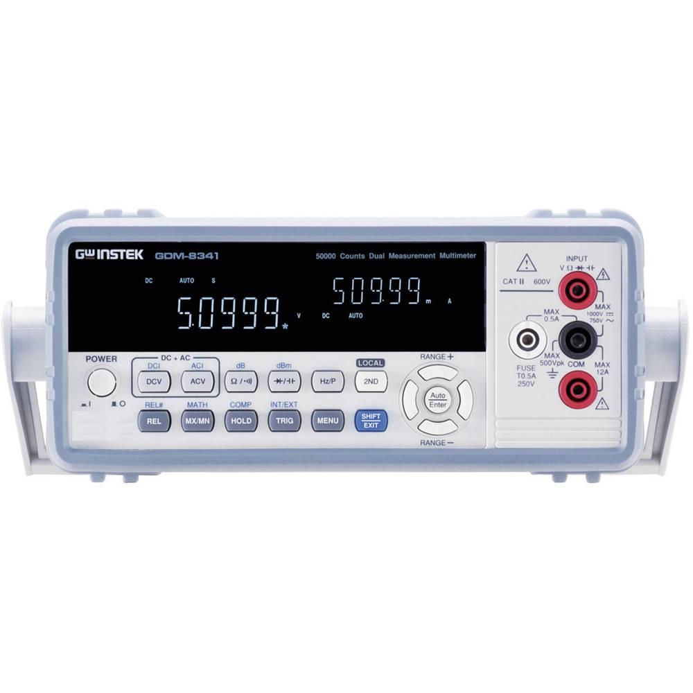 Digitalni stolni multimetar GW Instek GDM-8341 CAT II 600 V broj mjesta na zaslonu: 50000