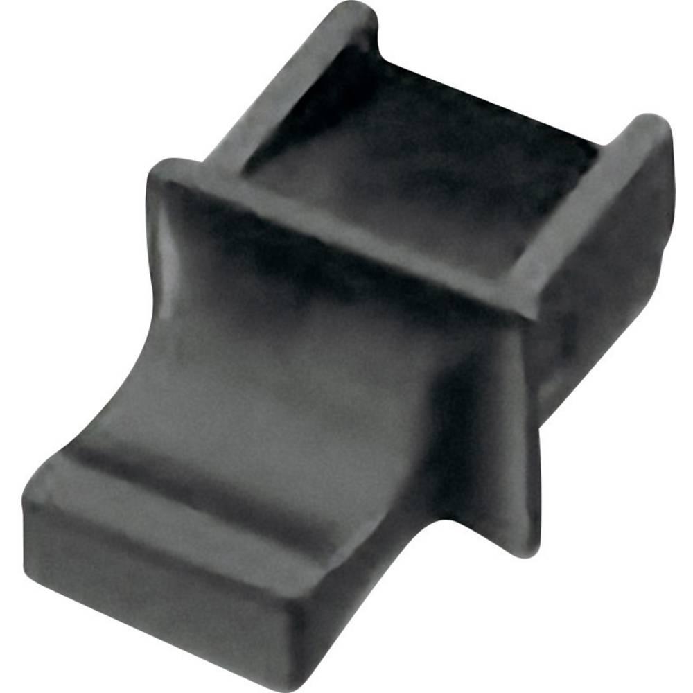 Zaščitni pokrov z ročajem za RJ45 vtičnico črne barve Würth Elektronik 726151101 1 kos