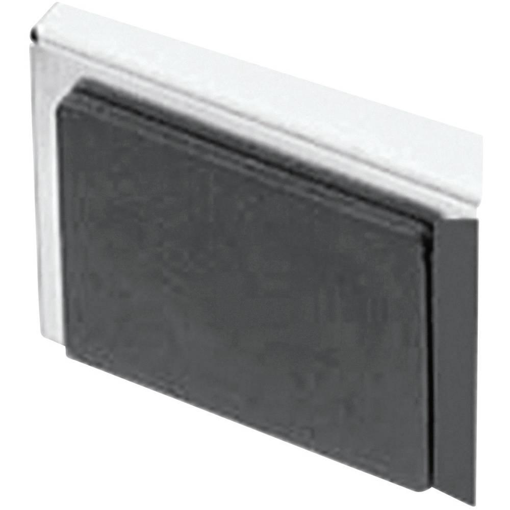 Zaščitni pokrov za RJ45 vtičnico črne barve Würth Elektronik 726151102 1 kos