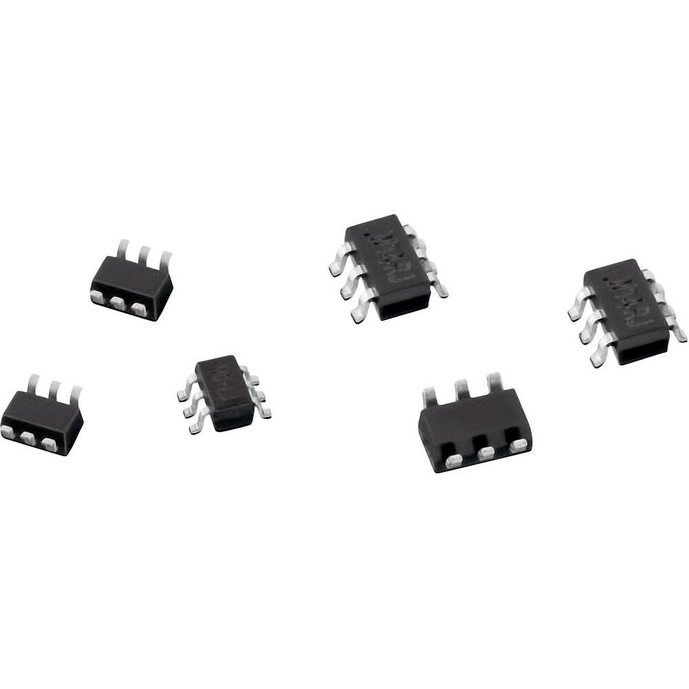 TVS dioda, Würth Elektronik 824021 SOT-23-3L 6.1 V