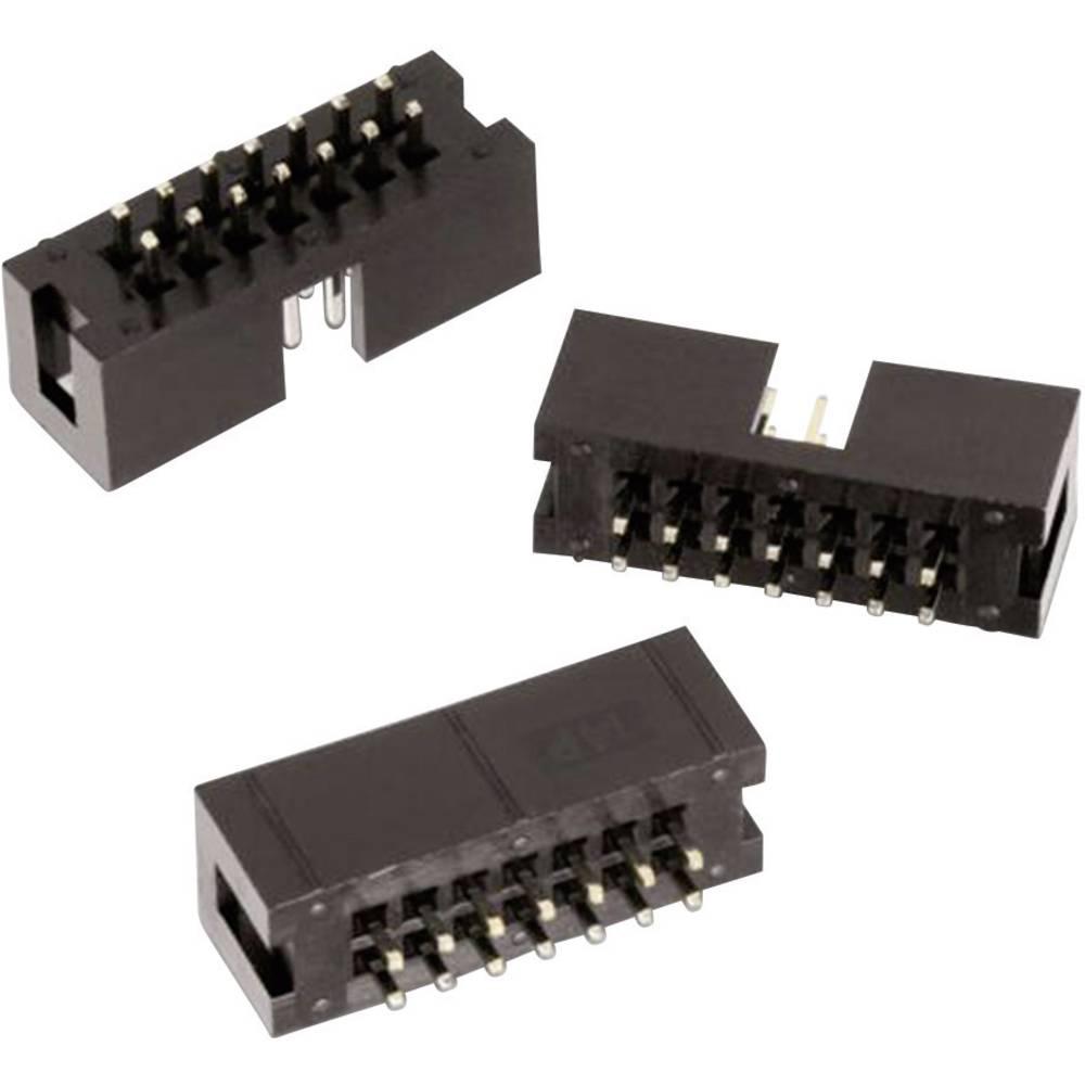 Stiftliste (standard) WR-BHD Samlet antal poler 20 Würth Elektronik 61202021621 Rastermål: 2.54 mm 1 stk