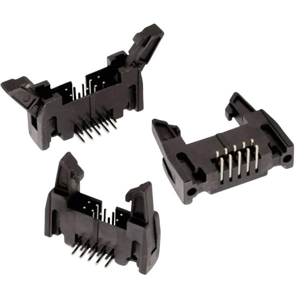 Indbygningsstiftliste (standard) WR-BHD (value.1360481) Samlet antal poler 26 Würth Elektronik 61202622921 Rastermål: 2.54 mm 1