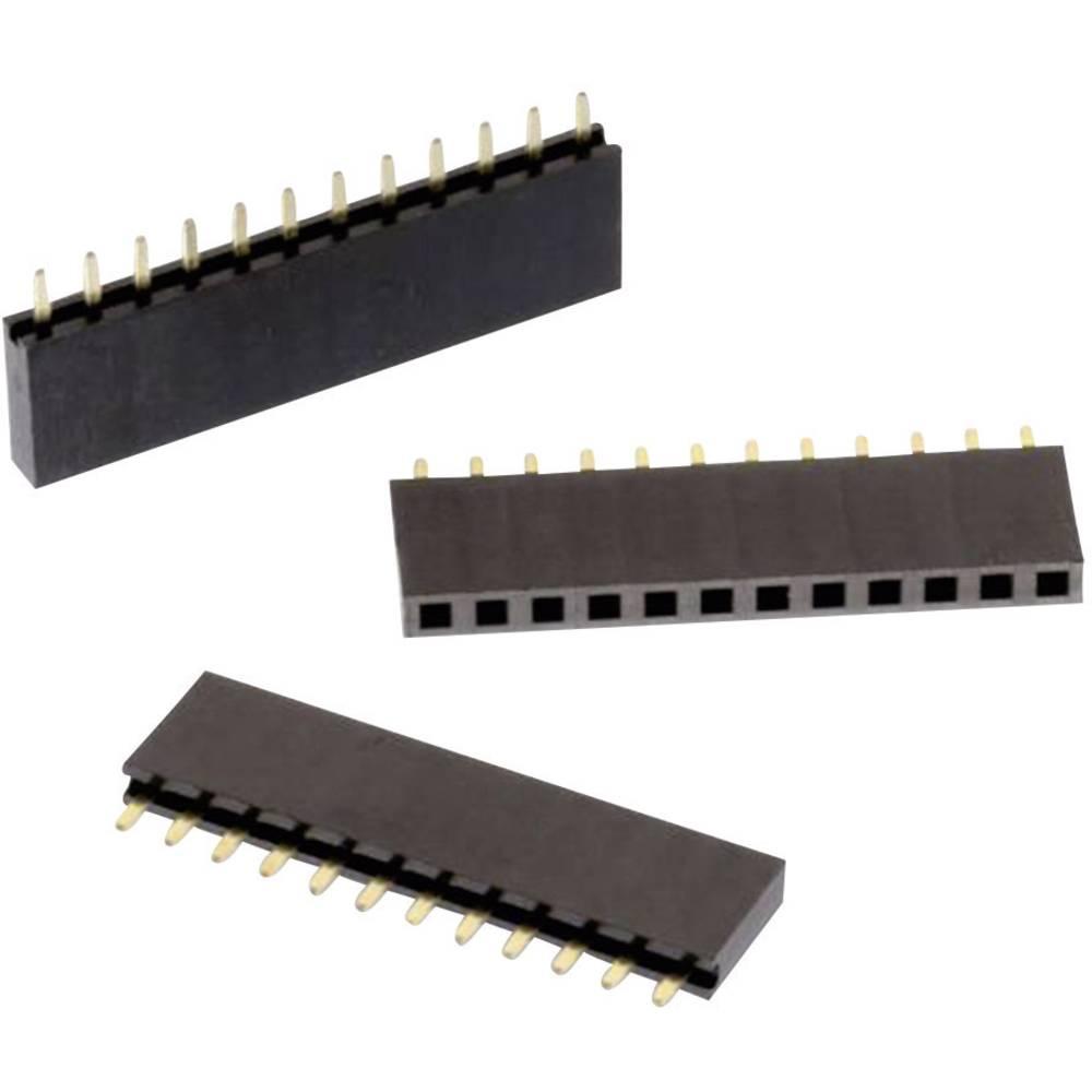 Priključek (standardni) Würth Elektronik 61301011821, mere: 2.54 mm 1 kos