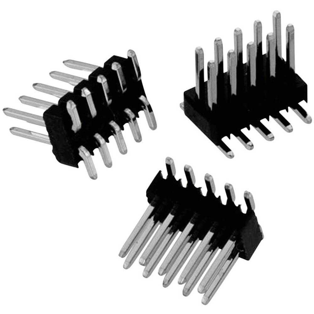 Stiftliste (standard) WR-PHD (value.1360480) Samlet antal poler 32 Würth Elektronik 61303211021 Rastermål: 2.54 mm 1 stk