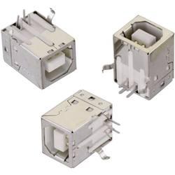 USB , tipa B pokončen, WR-COM vtičnica, vgraden, vertikalen Würth Elektronik vsebuje: 1 kos