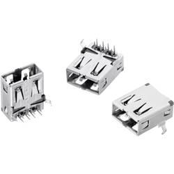 USB , tipa A pokončen 2-smerni, WR-COM vtičnica, vgraden, horizontalen Würth Elektronik vsebuje: 1 kos