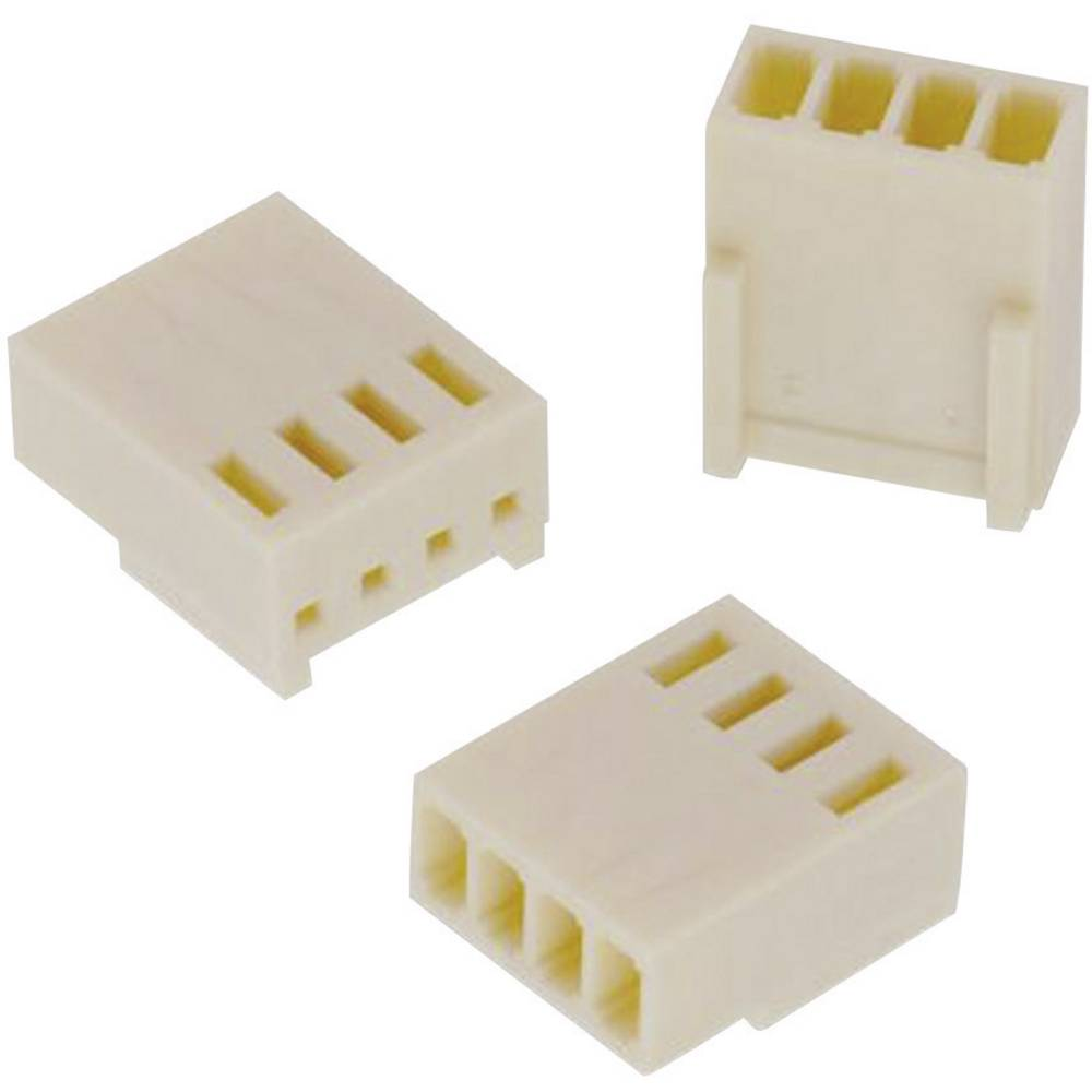 Tilslutningskabinet-kabel WR-WTB (value.1360560) Samlet antal poler 4 Würth Elektronik 61900411621 Rastermål: 2.54 mm 1 stk