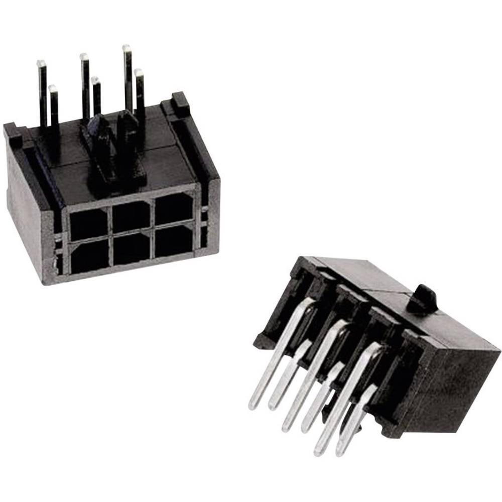 Indbygningsbøsningsliste (standard) WR-MPC3 Samlet antal poler 24 Würth Elektronik 66202421022 Rastermål: 3 mm 1 stk