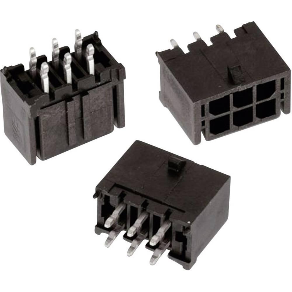 Vgradni priključek (standardni) Würth Elektronik 66202021122, mere: 3 mm 1 kos