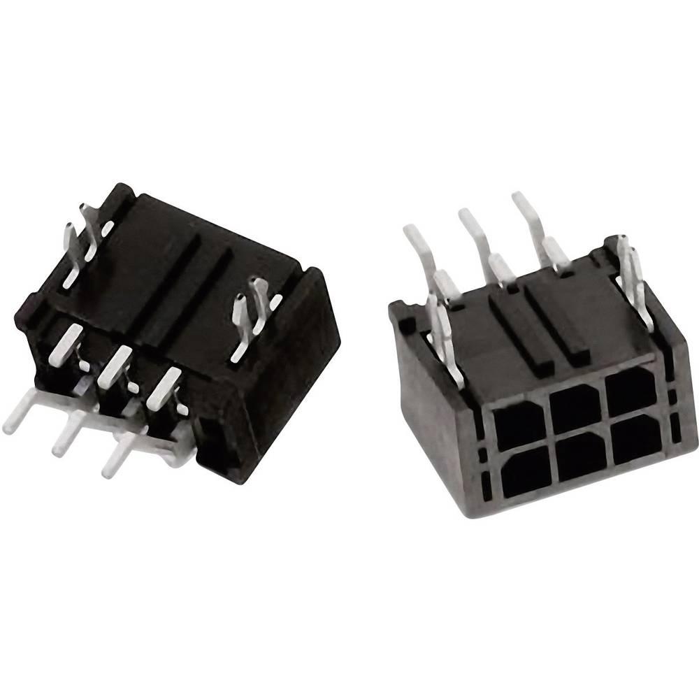 Vgradni priključek (standardni) Würth Elektronik 662002230822, mere: 3 mm 1 kos