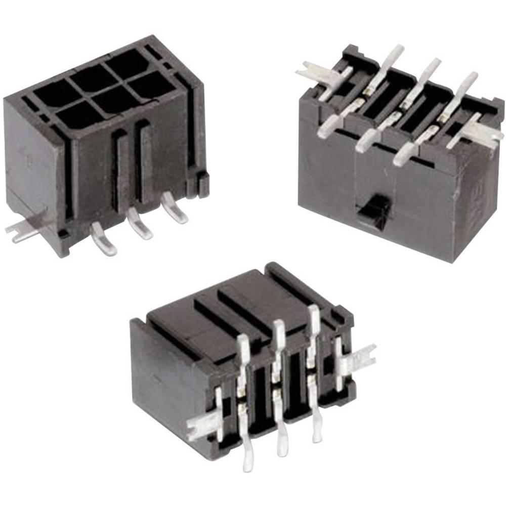 Indbygningsbøsningsliste (standard) WR-MPC3 (value.1360532) Samlet antal poler 12 Würth Elektronik 662012231822 Rastermål: 3 mm