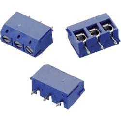Skrueklemmeblok Würth Elektronik WR-TBL 102 0.33 mm² Poltal 2 Blå 1 stk