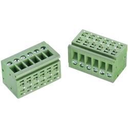 Skrueklemmeblok Würth Elektronik WR-TBL 126 B 3.30 mm² Poltal 2 Grøn 1 stk