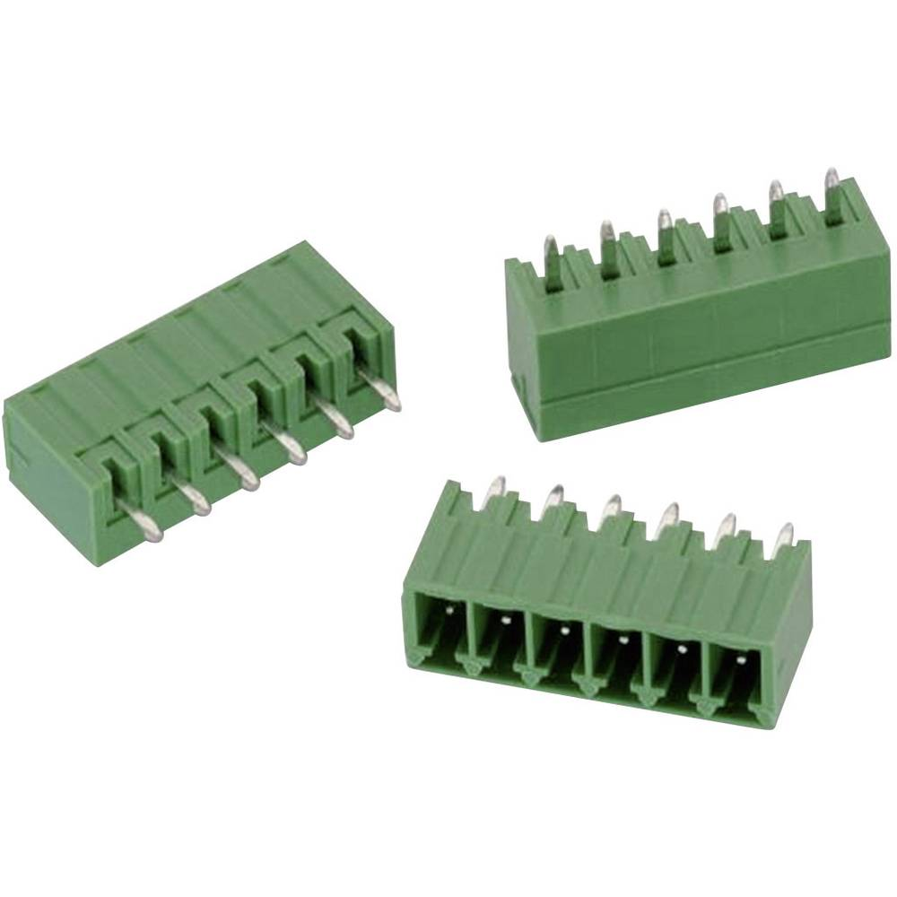 Stiftkabinet-printplade 3211 (value.1361101) Samlet antal poler 6 Würth Elektronik 691321100006 Rastermål: 3.50 mm 1 stk