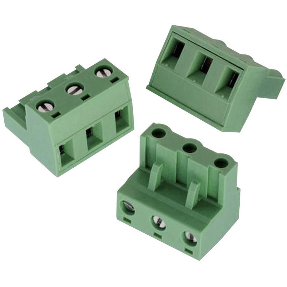 Tilslutningskabinet-kabel 3514 (value.1361067) Samlet antal poler 6 Würth Elektronik 691351400006 Rastermål: 7.62 mm 1 stk