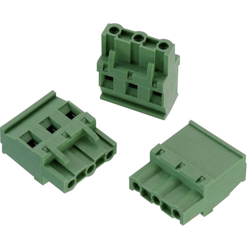 Tilslutningskabinet-kabel 3524 (value.1360990) Samlet antal poler 3 Würth Elektronik 691352410003 Rastermål: 7.62 mm 1 stk