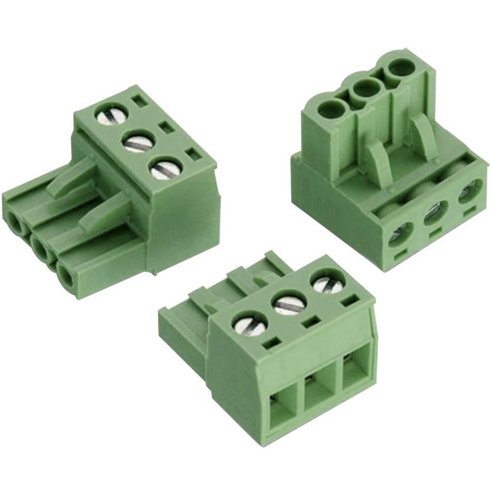 Tilslutningskabinet-kabel 3527 (value.1360739) Samlet antal poler 5 Würth Elektronik 691352710005 Rastermål: 5 mm 1 stk