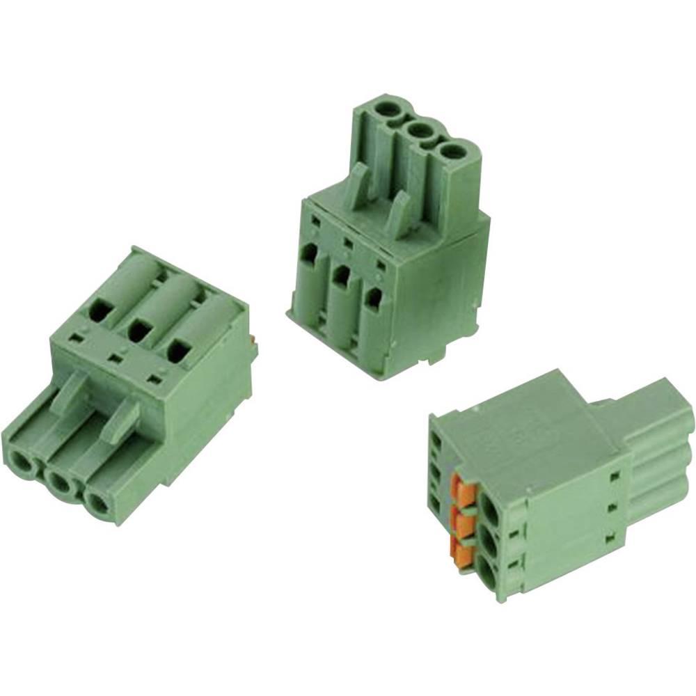 Tilslutningskabinet-kabel 353 (value.1361145) Samlet antal poler 3 Würth Elektronik 691353500003 Rastermål: 5.08 mm 1 stk