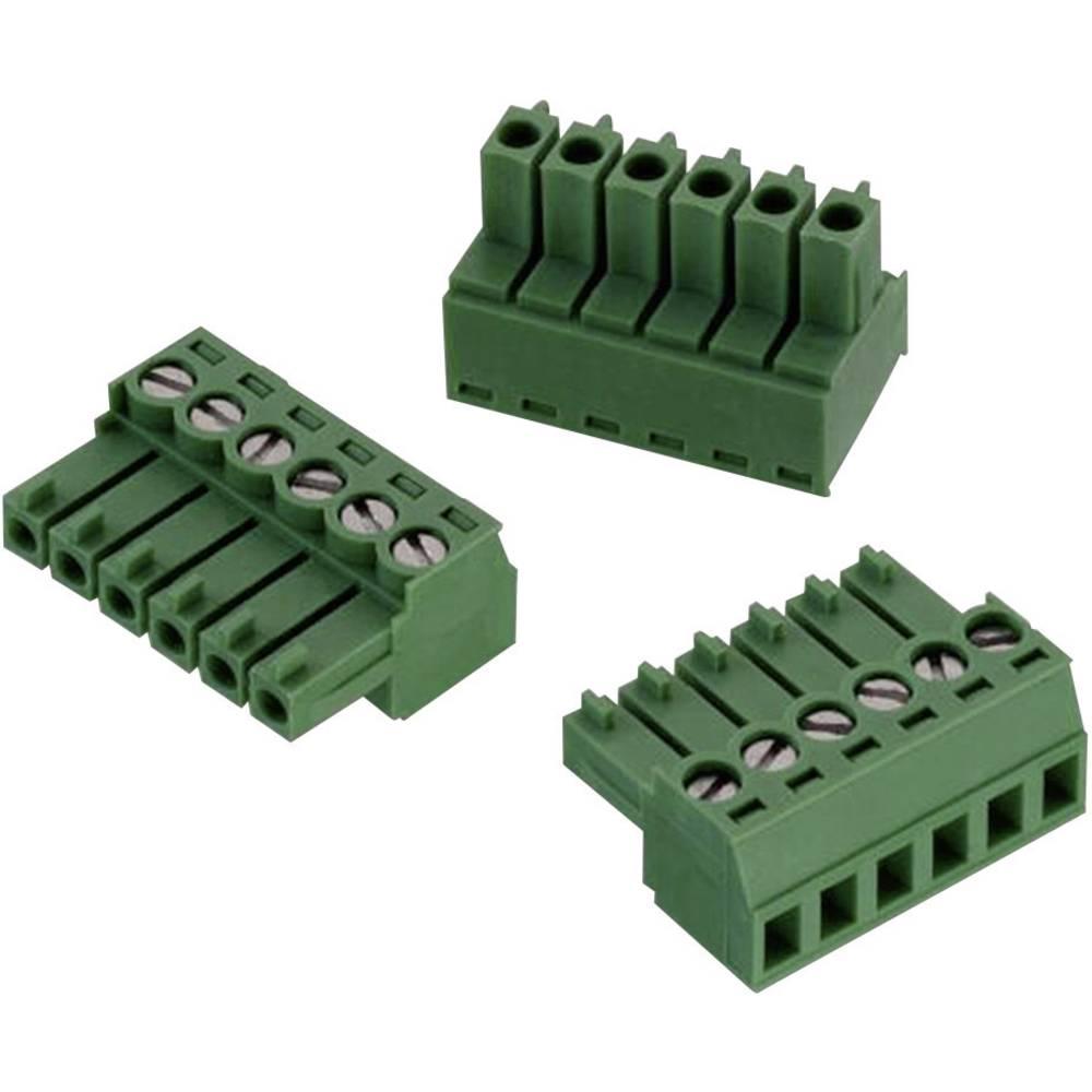 Tilslutningskabinet-kabel 3611 Samlet antal poler 6 Würth Elektronik 691361100006 Rastermål: 3.50 mm 1 stk