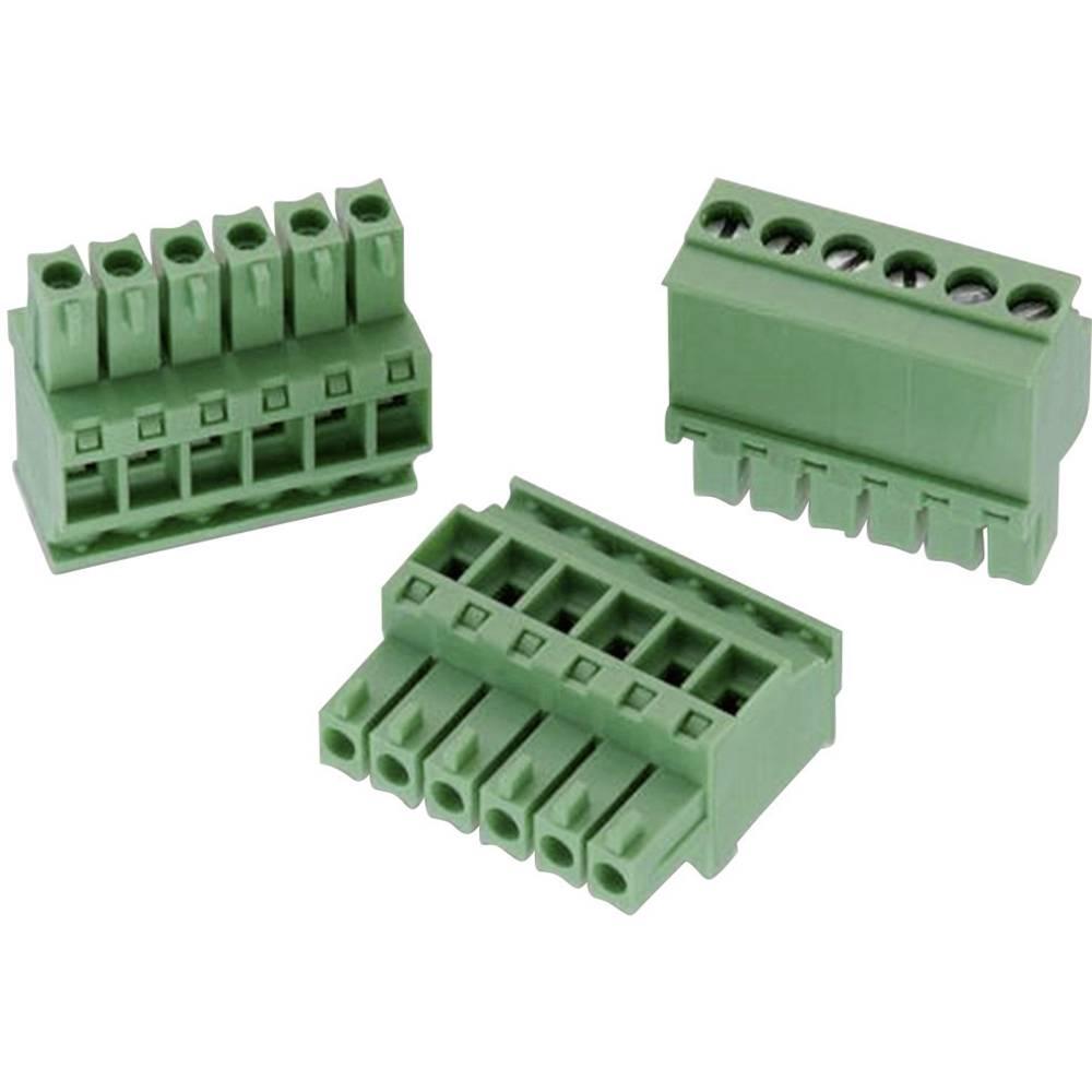 Tilslutningskabinet-kabel 3611 (value.1360840) Samlet antal poler 2 Würth Elektronik 691363110002 Rastermål: 3.50 mm 1 stk
